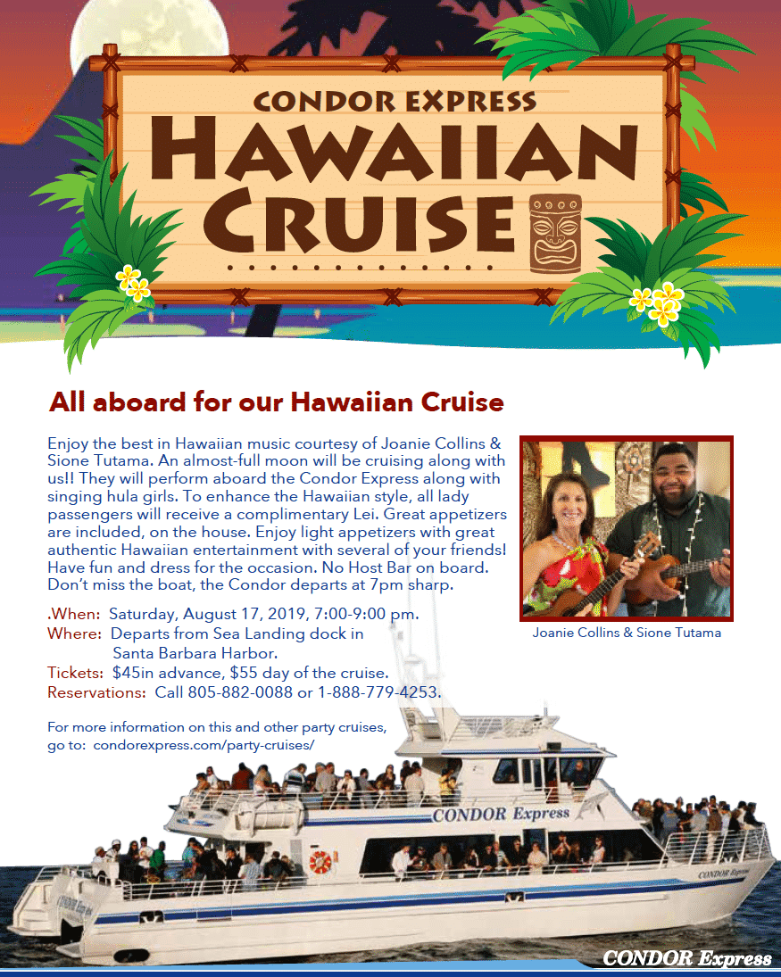 Condor Express Hawaiian Cruise